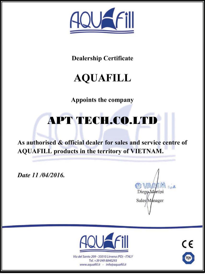 Bình tích áp Aquafill-Varem Italy