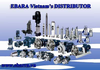 Phân phối máy bơm Ebara chính hãng